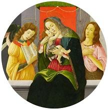 Lo502 - Sandro Botticelli, Vierge à l'enfant - Van Ham