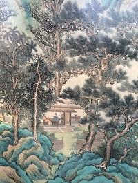 Lot 89 - Panneau de soie, Chine XIXème - Vermot et Associés