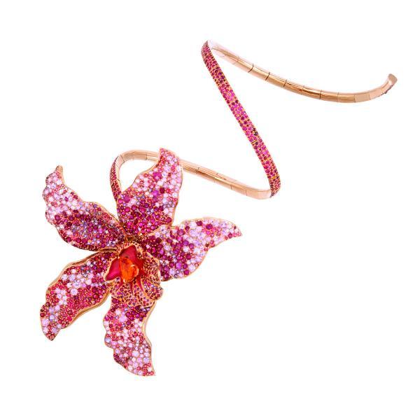 Lot 230 - Bracelet Orchidée - Boule